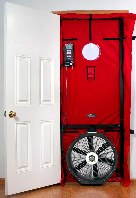 The Blower Door Test